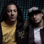 Hip-Hop artists Farid Bang &amp; DJ Arow 