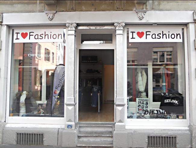 I Love Fashion Store Konradstrasse